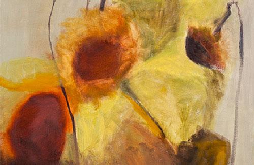 Gabryel-Harrison Like Battered Crowns, 36″x36″, oil on canvas, 2014