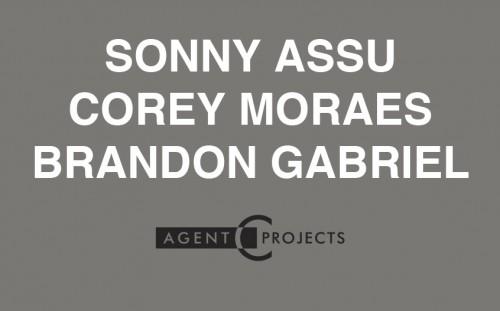Sonny Assu, Brandon Gabriel and Corey W. Moraes