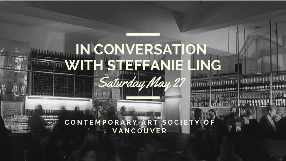 Steffanie Ling CASV Contemporary Art Society of Vancouver