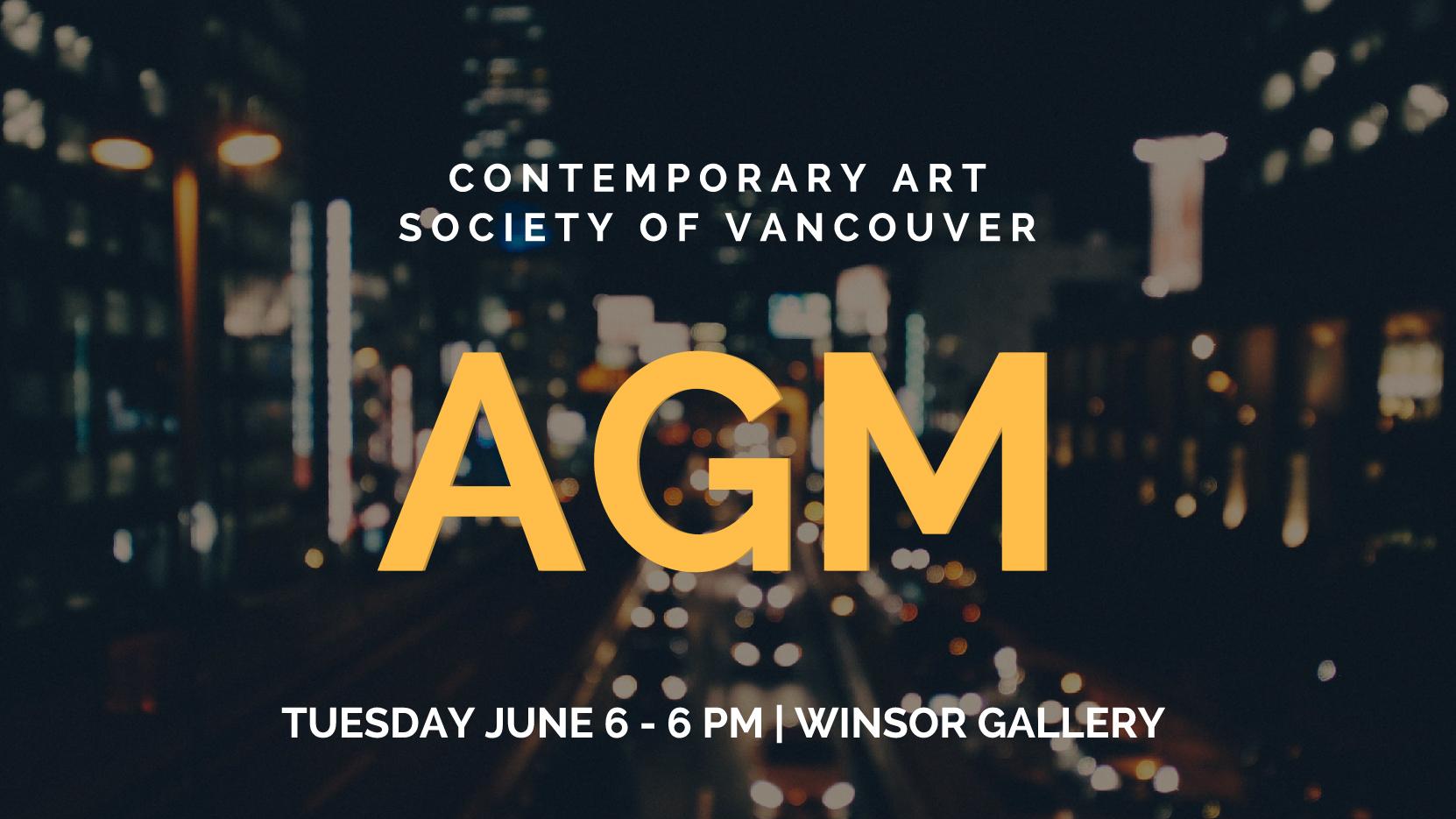 CASV Contemporary Art Society of Vancouver