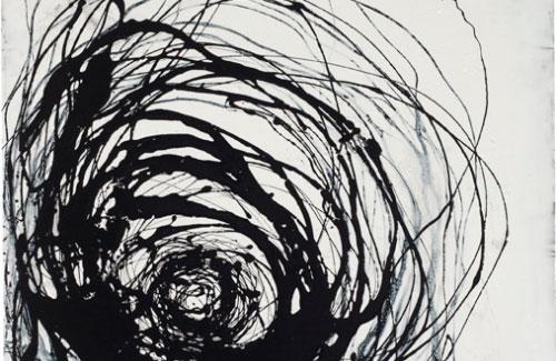 "UNTITLED #386, 2011 53 X 53"", resin on steel, Hay Bale series Martha Varcoe Sturdy"